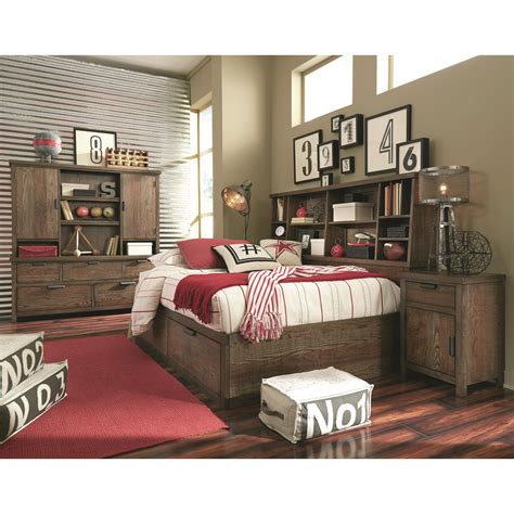 lounge bed full legacy classic kids fulton county full bookcase lounge bed