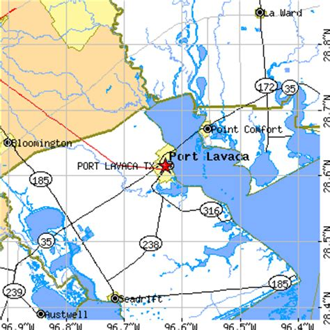 port lavaca texas map port lavaca texas tx population data races housing economy