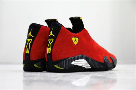 retro ferrari shoes air jordan 14 retro quot ferrari quot ferrari retro and jordan 14