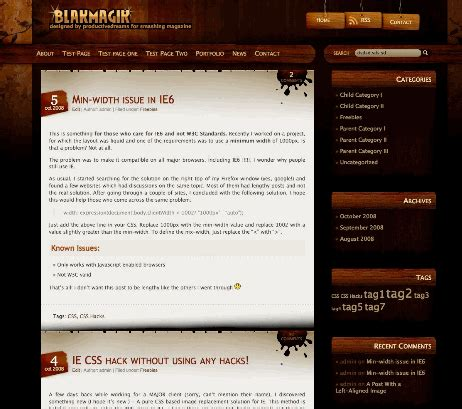 theme wordpress unik download gratis 8 theme wordpress unik wp theme gratis