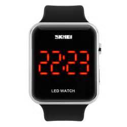 skmei led digital smart wrist touch screen