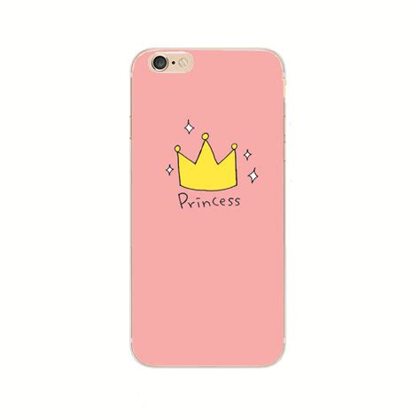 Princess Y1529 Iphone 6 6s new fashion phone cases for iphone 6 6s 6 plus 6s plus princess prince crown cover free