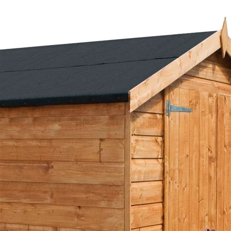Felt On Shed Roof by 12 X 8 Waltons Summerhouse With Side Shed Rh