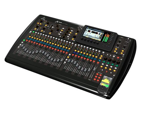 digital mixing console behringer x32 x 32 32 channel digital used mixing console
