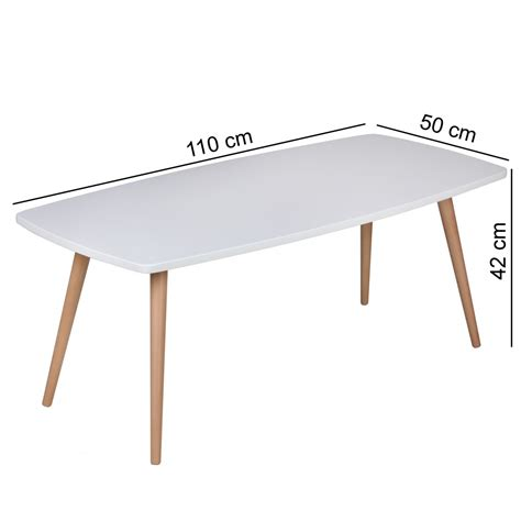 betthöhe 50 cm design couchtisch skandi 110 x 50 x 42 cm rechteckig retro