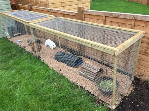 Guinea Pig House Plans De 20 Bedste Id 233 Er Inden For Outdoor Rabbit Hutch P 229