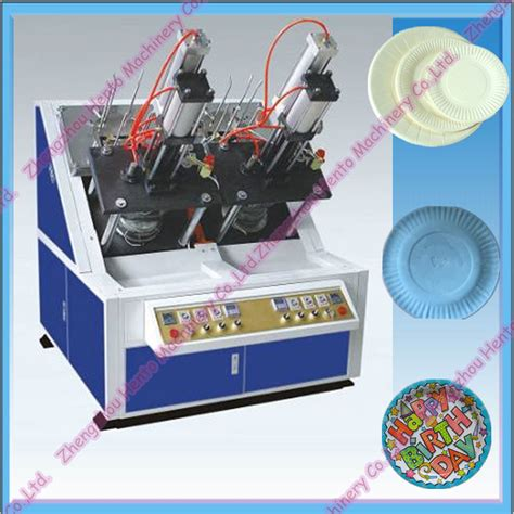 Paper Plate Machine Price - 2015 sale fully automatic paper plate machine