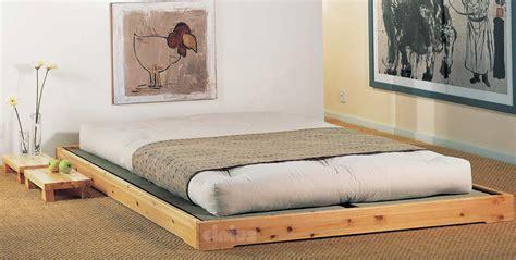 japanische futonbetten letto nokido di cinius letto basso con tatami in stile