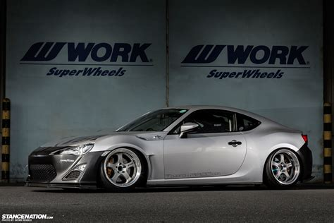 stanced toyota stanced toyota gt 86 rc is rough autoevolution