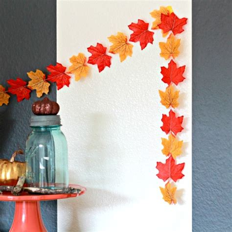 diy leaf decorations pictures photos and images for fall decorating painted leaves