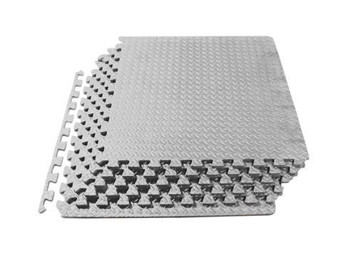 Exercise Mat Tiles by Prosource Puzzle Exercise Floor Tiles Mat Foam