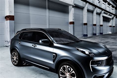 volvo co geely s newborn lynk co launches volvo based 01 compact