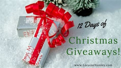 5 Days Of Giveaways - 12 days of christmas giveaways 2017 day 5 loraine d nunley author