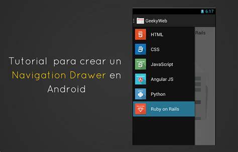 tutorial android youtube tutorial android navigation accesibilidad estar al d 237 a