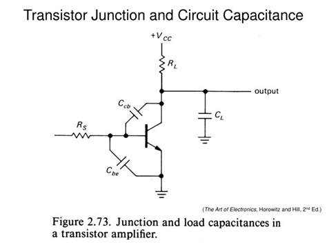 bipolar transistor junction capacitance ppt differential lifiers powerpoint presentation id 974919