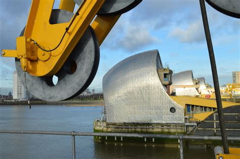 thames water barrier pipe secrets of the thames barrier londonist
