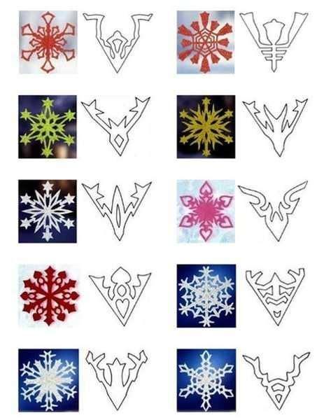 printable diy snowflakes 40 paper snowflake garlands for christmas decorating