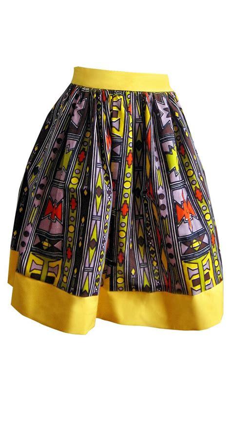 Tribal Batik tribal batik print skirt print
