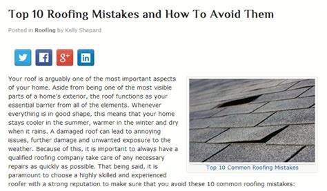 no room for roofing mistakes find a contractor you can