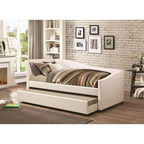 upholstered daybeds that look like sofas coaster daybeds by coaster 300509 twin daybed with