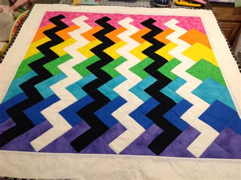 Invented A New Quilting Technique On This Baby Quilt