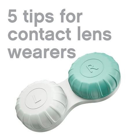 7 Tips For Contact Lens Wearers by 17 Best Images About Contact Lenses On Helpful