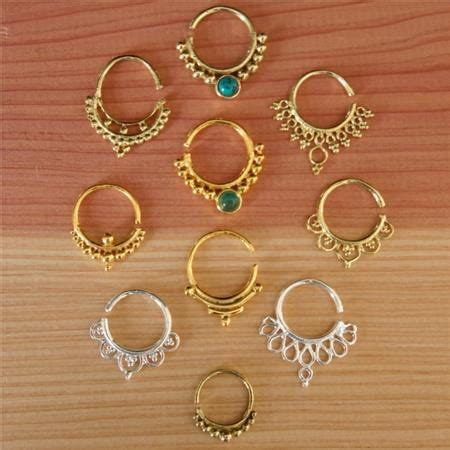 Decorative Septum Jewelry by Assorted Stainless Jewelry Piercing Various