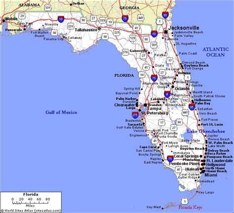 florida usa map cities 17 best ideas about map of florida cities on