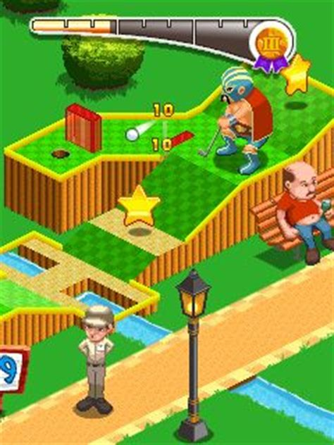 themes java mob org mini golf 99 holes theme park java game for mobile