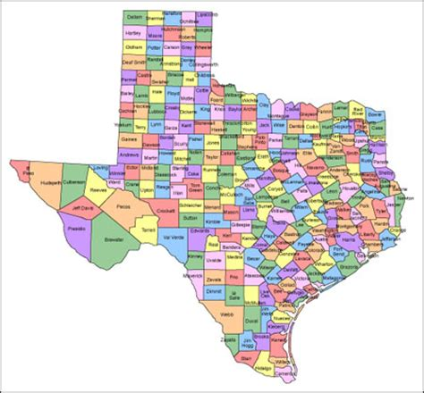 map of texas counties with names texas map with counties and names presentationmall