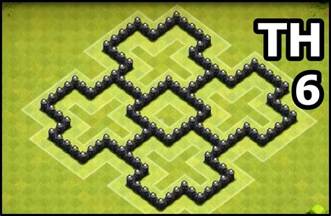 layout of coc town hall 6 youtube kids clash of clans town hall 6 coc th6 base