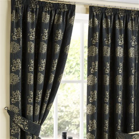 luxury drapes ready made arden jet pencil pleat luxury ready made curtains pencil pleat curtains curtains