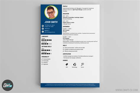 Cv Resume Builder by Resume Builder Creative Resume Templates Craftcv