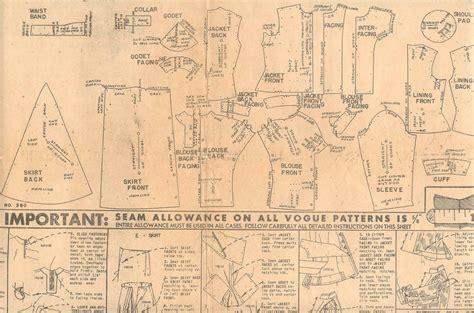 sewing pattern layout sewtawdry vintage patterns resizing using a sloper part 1