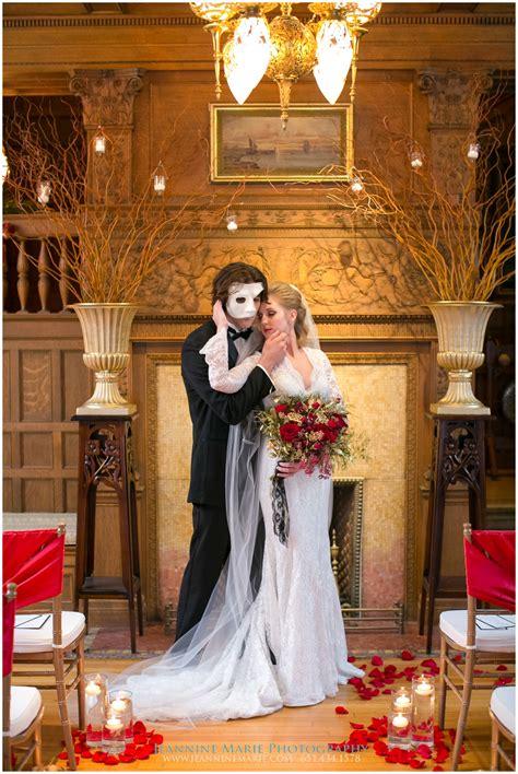 The Wedding cities phantom of the opera wedding jeannine photography