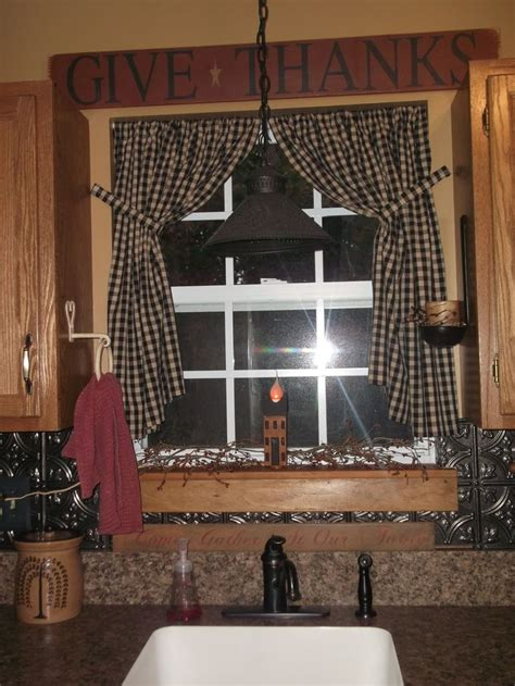primitive kitchen curtains 25 best ideas about primitive kitchen on diy