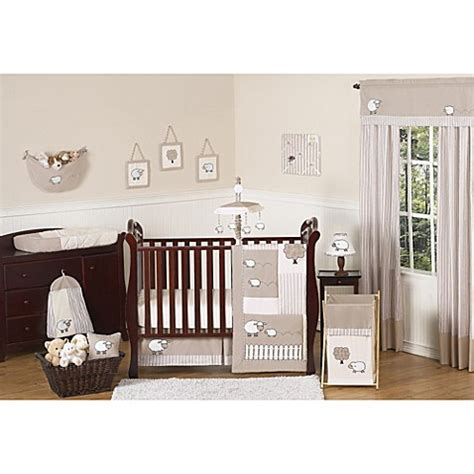lamb baby bedding sweet jojo designs little lamb crib bedding collection buybuy baby
