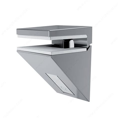 kalabrone mini glass wall shelf support richelieu hardware