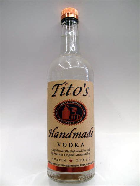 Titos Handmade - tito s handmade vodka quality liquor store
