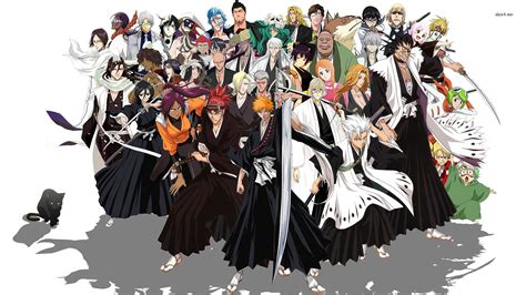 wallpaper hd anime moe bleach les 3 premi 232 res saisons de bleach en coffret