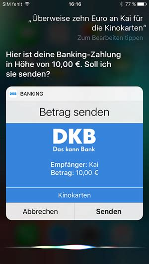 iban dkb bank 220 berweisen per spracheingabe siri macht s m 246 glich dkb ag