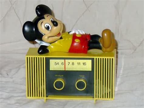 radios concept 2000 mickey mouse radio 1970s