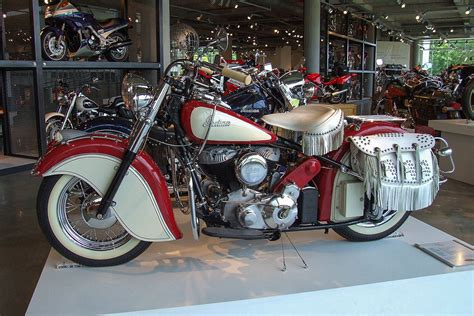 Indian Motorrad 1950 by Indian