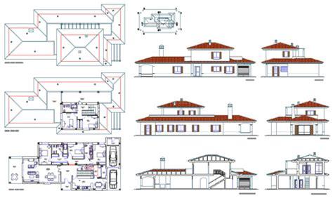 tutorial sketchup in romana ville residenziali dwg progetti ville houses dwg