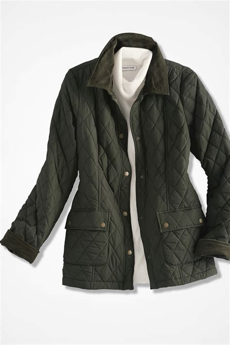 Quilted Barn Jacket by Quilted Barn Jacket Coldwater Creek