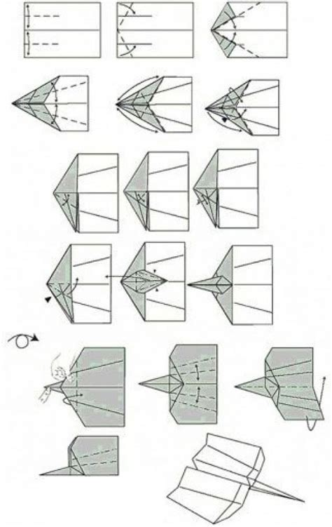 Ways To Make Paper Airplanes - how to make a paper airplane 11 ways how2db