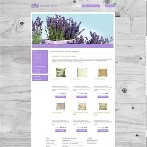 herbal eshop template rivalengine