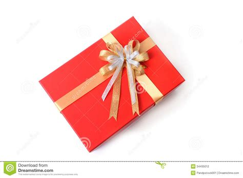 gift box on topview stock photo image of present