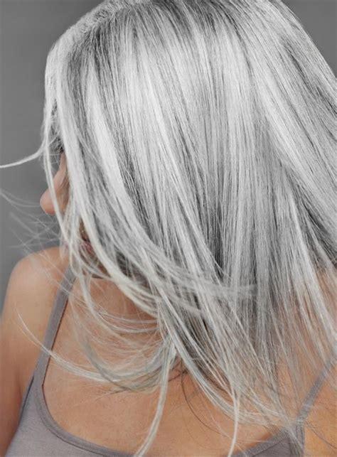 do like grey hair haarkleuren 2015 2016 grijze haarkleuren kapsels 2017