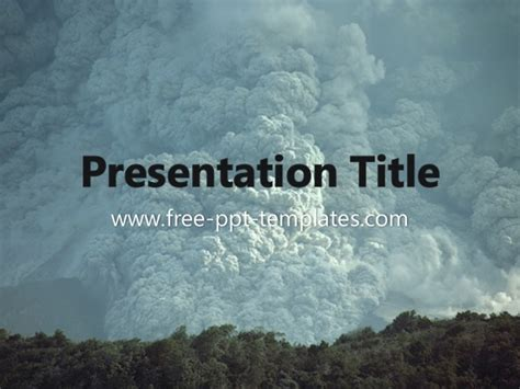 Natural Disaster Ppt Template Disaster Powerpoint Templates Free